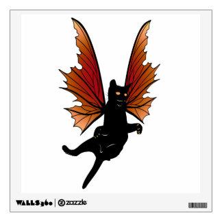 Cosmic Cat Acorn Wall Sticker