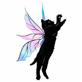 Cosmic Cat Dandelion Standing Photo Sculpture