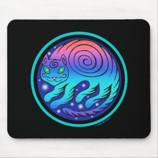 Cosmic Cat Mousepad