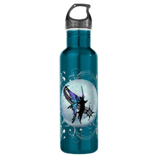 Cosmic Cat Star 710 Ml Water Bottle