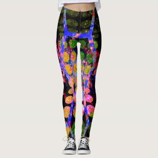 Cosmic circle hexapants leggings