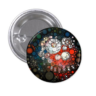 Cosmic Clown 1 Inch Round Button
