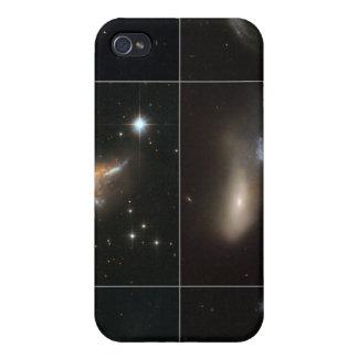 Cosmic Collisions Galore! iPhone 4 Case