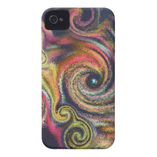 Cosmic Color Swirls Blackberry Bold Case-Mate iPhone 4 Cases