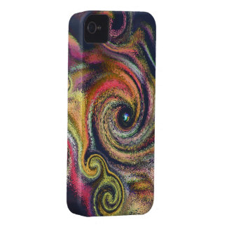 Cosmic Color Swirls iPhone4 Case-Mate