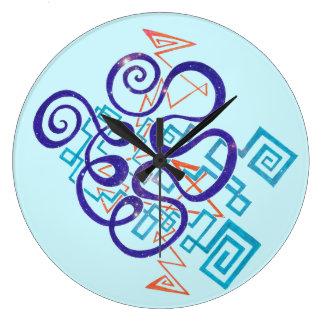 Cosmic Colors Clock