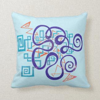 Cosmic Colors Pillow