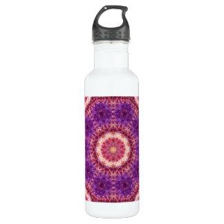 Cosmic Convergence Mandala 710 Ml Water Bottle