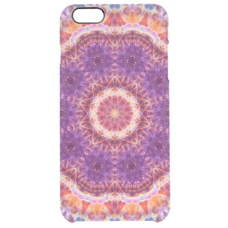 Cosmic Convergence Mandala Clear iPhone 6 Plus Case
