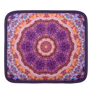 Cosmic Convergence Mandala iPad Sleeve