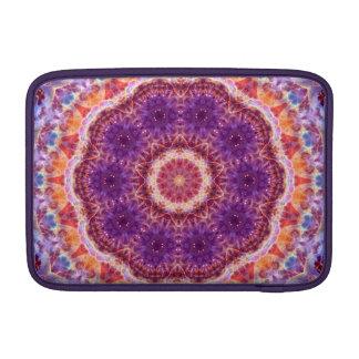 Cosmic Convergence Mandala MacBook Sleeve