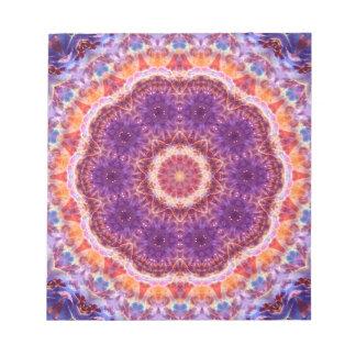 Cosmic Convergence Mandala Notepad