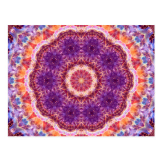 Cosmic Convergence Mandala Postcard