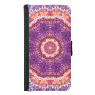 Cosmic Convergence Mandala Samsung Galaxy S5 Wallet Case