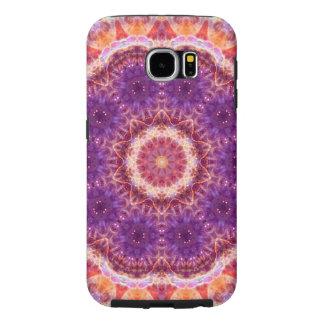 Cosmic Convergence Mandala Samsung Galaxy S6 Cases