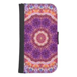 Cosmic Convergence Mandala Samsung S4 Wallet Case