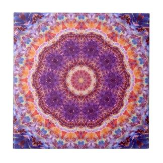 Cosmic Convergence Mandala Tile