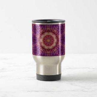 Cosmic Convergence Mandala Travel Mug