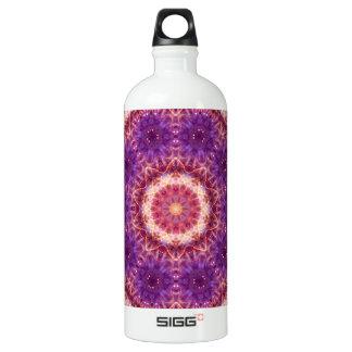 Cosmic Convergence Mandala Water Bottle
