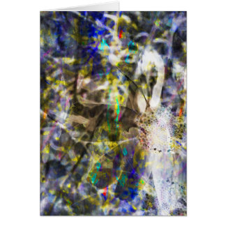 Cosmic Corn Marigold Card