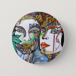 Cosmic Couple 2 Inch Round Button