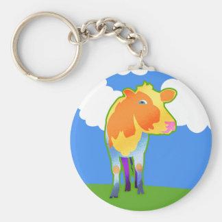 Cosmic Cow Keychain