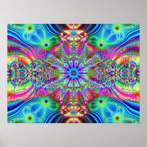 Cosmic Creatrip - Psychedelic trippy visuals Poster