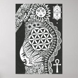 Cosmic Creatrix Poster