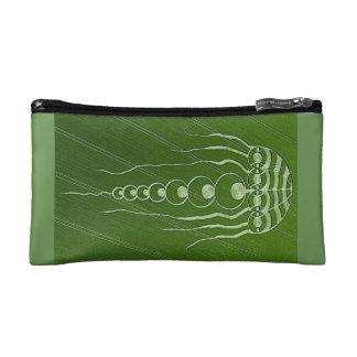 Cosmic Crop Circle Cosmetic Bag