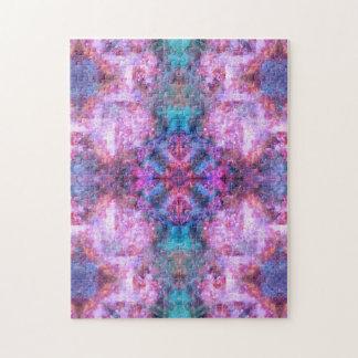 Cosmic Cross Mandala Puzzles