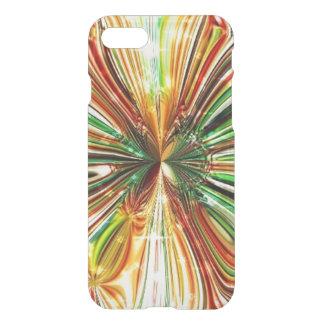 Cosmic Crystal Flower iPhone Case