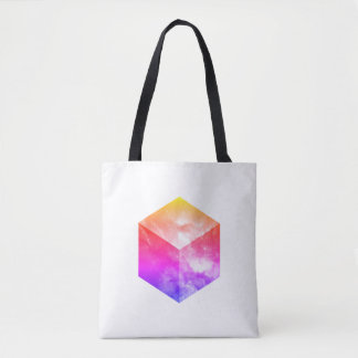 Cosmic Cube - Double Sided Tote Bag