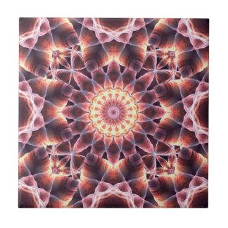 Cosmic Dance Mandala Tile