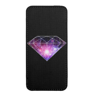 Cosmic diamond iPhone pouch