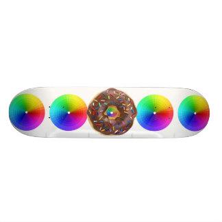 cosmic donut custom skate board