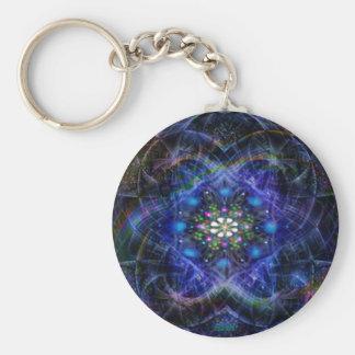 cosmic egg basic round button keychain