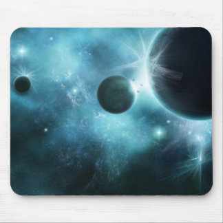 Cosmic Explosion Mouse Pad