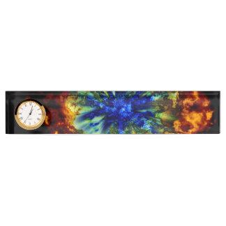 Cosmic Explosion Nameplate