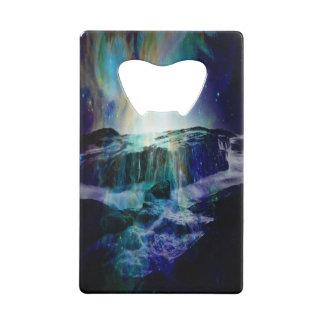 Cosmic Falls Credit Card Bottle Opener