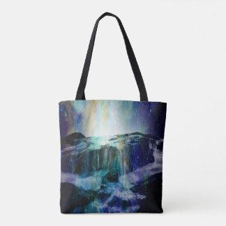 Cosmic Falls Tote Bag