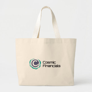 Cosmic Financials Swag Large Tote Bag