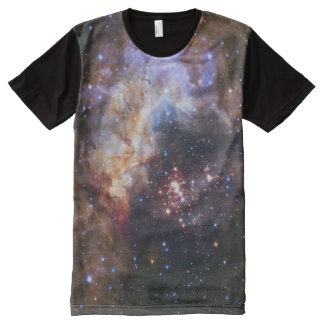 Cosmic Fireworks in Space All over print Shirt