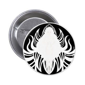 Cosmic Fist (Black and White) 2 Inch Round Button