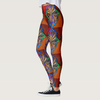 Cosmic Flower Leggings