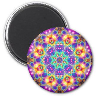 Cosmic Flower Magnet
