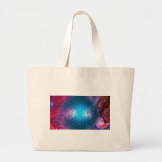 Cosmic Flower of Life Large Tote Bag