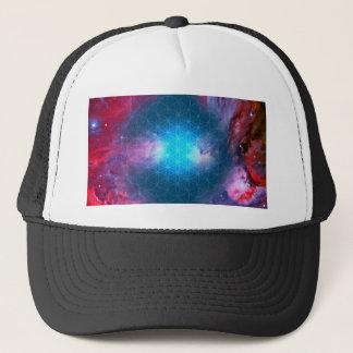 Cosmic Flower of Life Trucker Hat