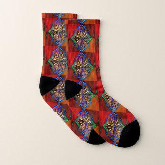 Cosmic Flower Socks