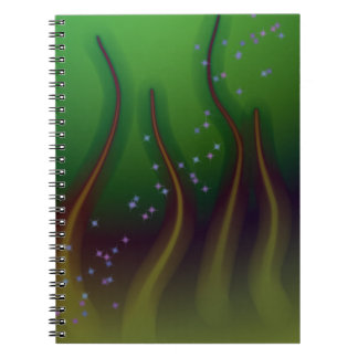 Cosmic Forest Spiral Notebook