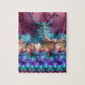 Cosmic Fountain of Childhood Fractal Abstract Jigsaw Puzzle